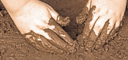 how to make a mud pie out of dirt